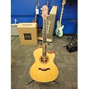 Used Craffer 2010s PK Bubinga Natural Acoustic Electric Guitar
