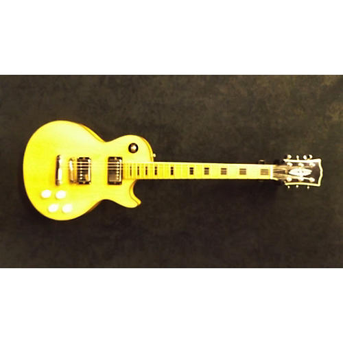 In Store Used Used Craft Les Paul Copy Natural Solid Body Electric Guitar-thumbnail