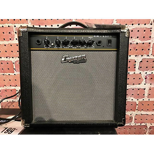 In Store Used Used Crafter CR15-RG Guitar Combo Amp