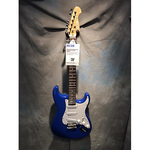 In Store Used Used Crafter Cruzer Blue Solid Body Electric Guitar