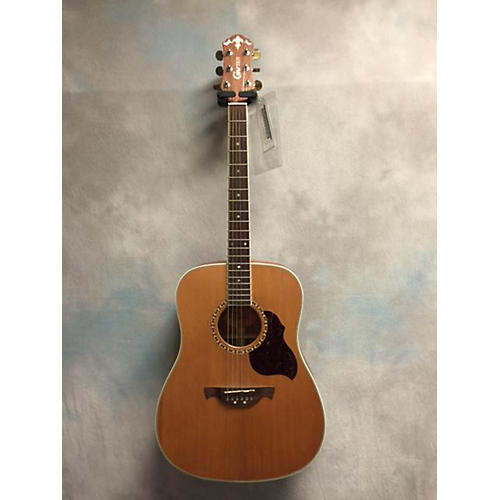In Store Used Used Crafter D7 Natural Acoustic Guitar-thumbnail