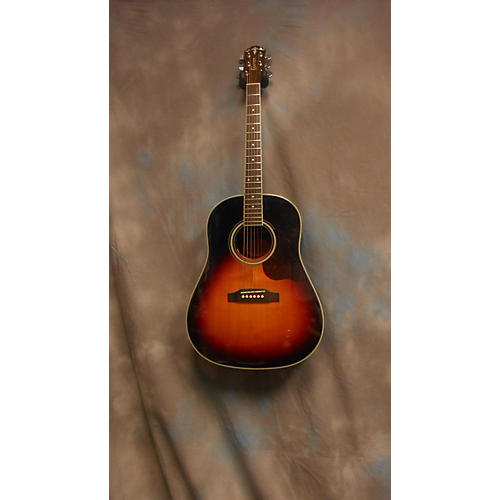 In Store Used Used Crafter Jm250 2 Color Sunburst Acoustic Electric Guitar 2 Color Sunburst