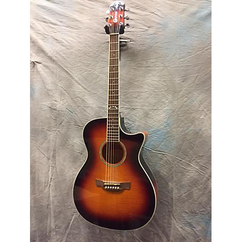 In Store Used Used Crafter QT 3 Color Sunburst Acoustic Guitar-thumbnail