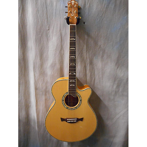 In Store Used Used Crafter SE33 Blonde Acoustic Electric Guitar