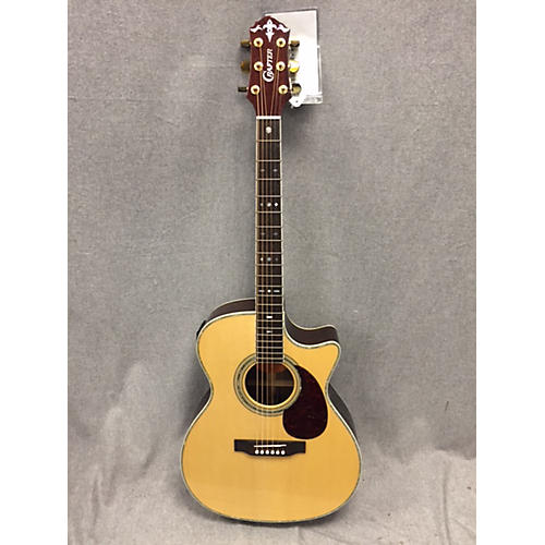 In Store Used Used Crafter TC035/n Natural Acoustic Electric Guitar