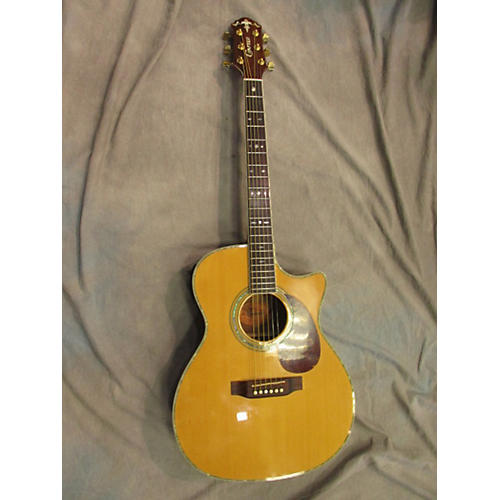 In Store Used Used Crafter Tc035 Natural Acoustic Electric Guitar-thumbnail