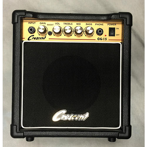 In Store Used Used Crescent Og-15 Guitar Combo Amp