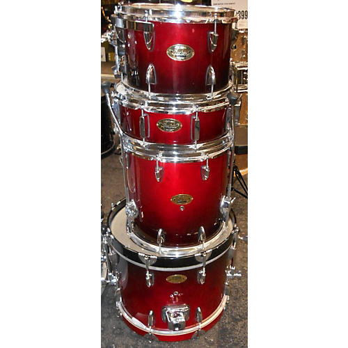 In Store Used Used Custom 4 piece Classic Faded Cherry Drum Kit