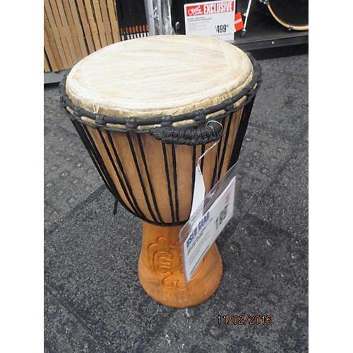 In Store Used Used Custom Djembe 11.75in Ben Ofori Djembe
