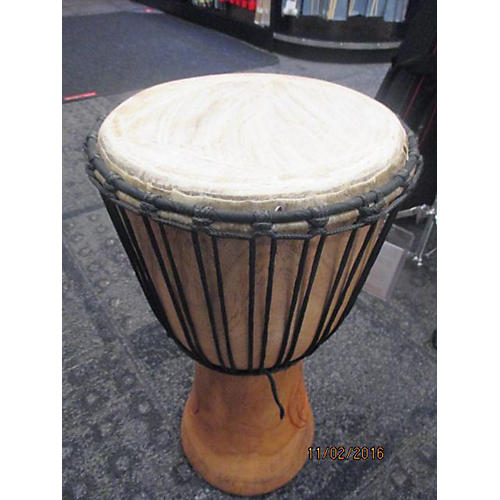 In Store Used Used Custom Djembe 11.75in Ben Ofori Djembe  127