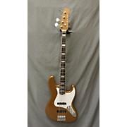 Used D. Lakin Joe Osborn Signature Gold Electric Bass Guitar