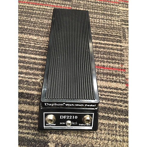 In Store Used Used DAPHON DF2210 WAH WAH PEDAL Effect Pedal