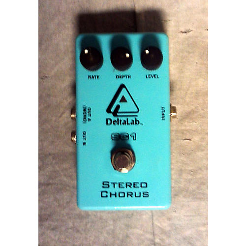 In Store Used Used DELTA LABS STEREO CHORUS Effect Pedal