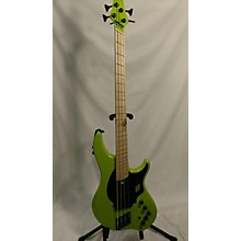 Used DINGWALL NG-2 LAMBO GREEN Electric Bass Guitar