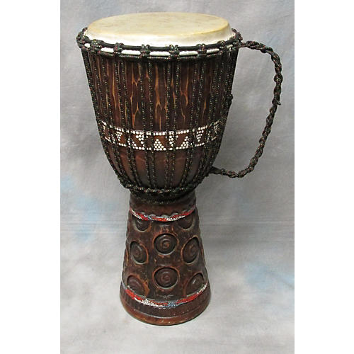 In Store Used Used DJEMBE HAND CARVED Djembe