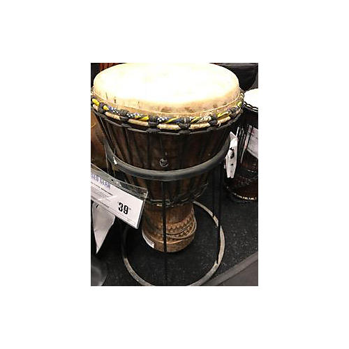 In Store Used Used DJEMBE MEINL Brown Conga