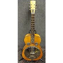 Used DOBR Hound Dog Square Neck Resonator Natural Resonator Guitar