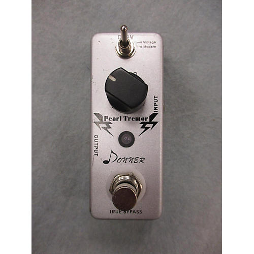 In Store Used Used DONNER ALCHMEY PEARL TREMOR Effect Pedal