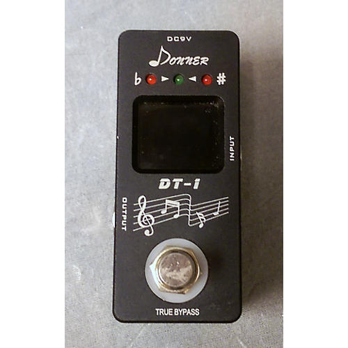 In Store Used Used DONNER DT1 TUNER Tuner Pedal-thumbnail