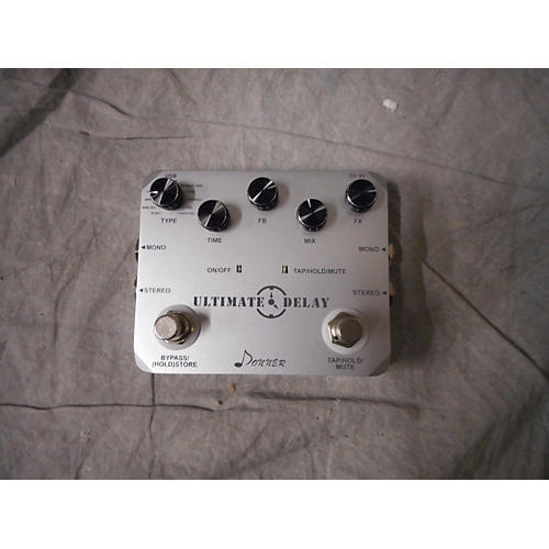 In Store Used Used DONNER Ultimate Delay Effect Pedal-thumbnail