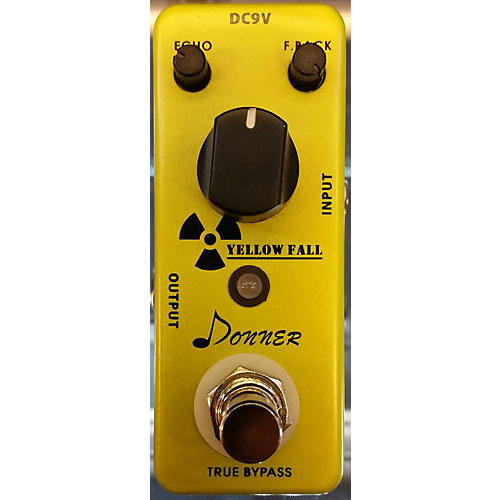 In Store Used Used DONNER YELLOW FALL Effect Pedal-thumbnail