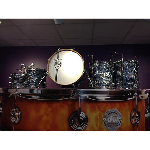 In Store Used Used DRUM WORKSHOP 2010s 5 piece CLASSIC SERIES Black Oyster Drum Kit