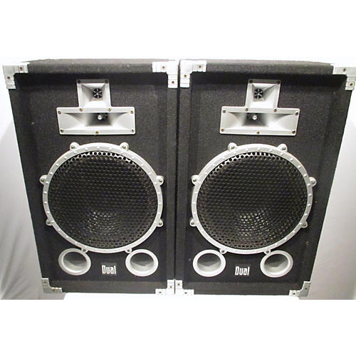 In Store Used Used DUAL DJL123E Unpowered Speaker