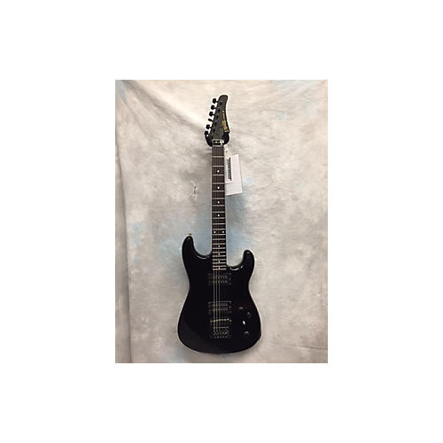 In Store Used Used D'agostino Ferarri III Black Solid Body Electric Guitar