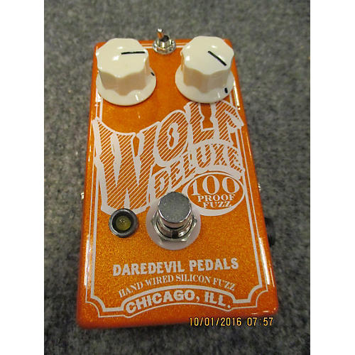 In Store Used Used Daredevil Wolf Deluxe 100 Proof Fuzz Effect Pedal