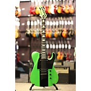 Used Dbz Maverick LIME GREEN Solid Body Electric Guitar