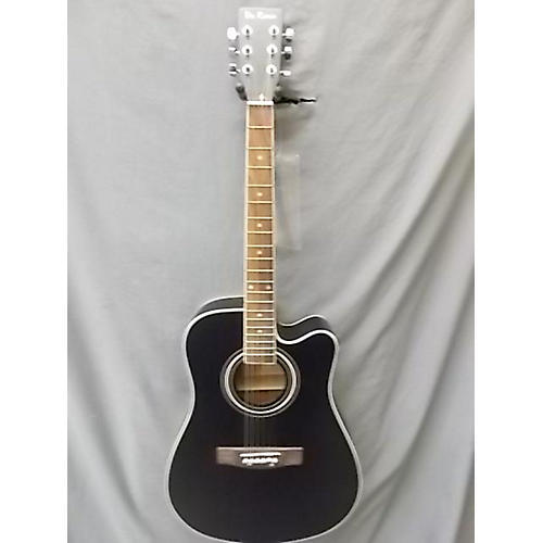 In Store Used Used De Rosa GA300LE Black Acoustic Electric Guitar
