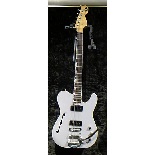In Store Used Used Del Toro Torelli Blue Hollow Body Electric Guitar-thumbnail