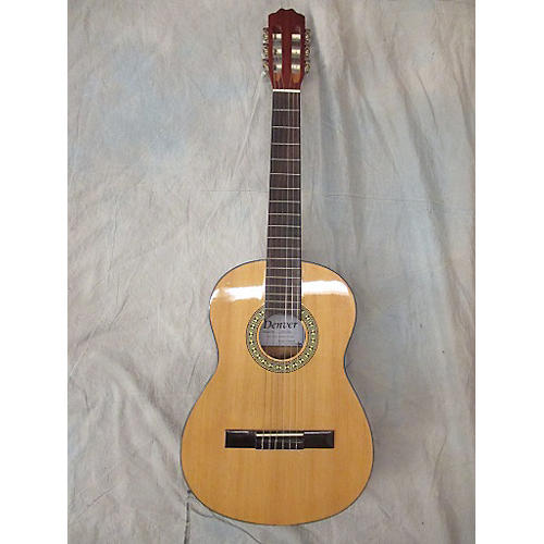 In Store Used Used Denver Dc34n Natural Classical Acoustic Guitar