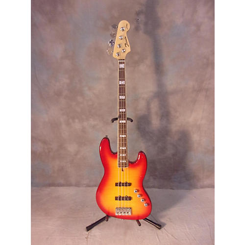 In Store Used Used Derulo The Rock Cherry Sunburst Electric Bass Guitar Cherry Sunburst