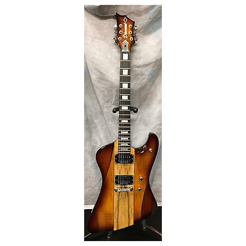 In Store Used Used Diamond Guitars Hailfire Caramel Spalted Maple Solid Body Electric Guitar