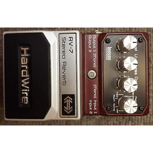 In Store Used Used Digitech Hardwire RV7 Effect Pedal-thumbnail