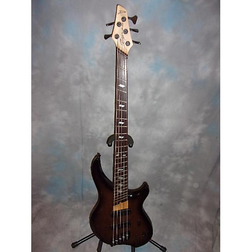 In Store Used Used Dingwall Afterburner Brown Burst Electric Bass Guitar-thumbnail
