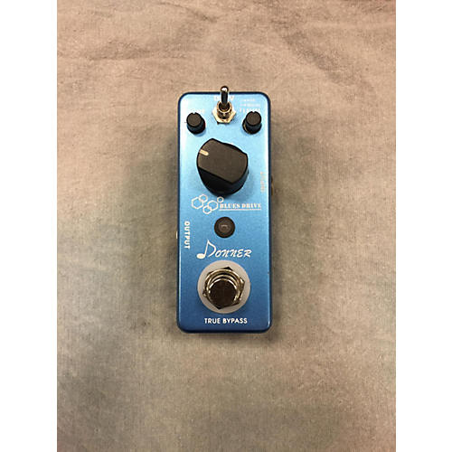 In Store Used Used Donner Blues Drive Effect Pedal