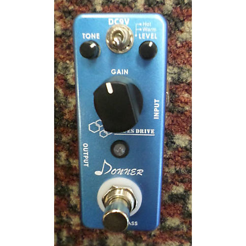 In Store Used Used Donner Blues Driver Classic Effect Pedal
