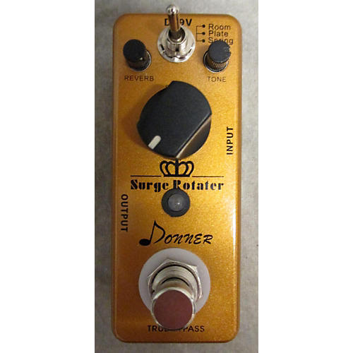 In Store Used Used Donner Surge Rotater Reverb Effect Pedal-thumbnail