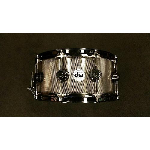 In Store Used Used Drum Workshop 6.5X14 Collectors Series Black Drum