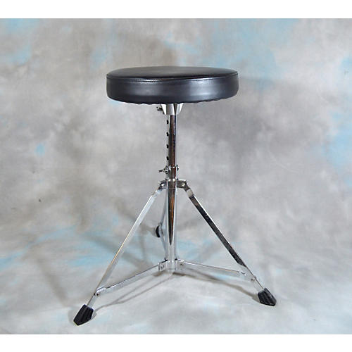 In Store Used Used Drum Zone Vinyl Seat Black Drum Throne