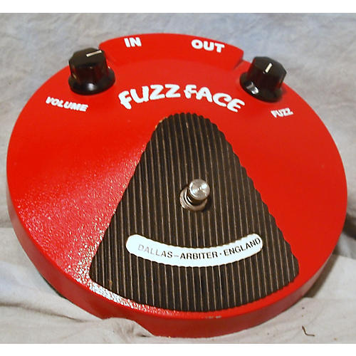 In Store Used Used Dunlop Dallas Arbiter 1993 Fuzz Face Effect Pedal