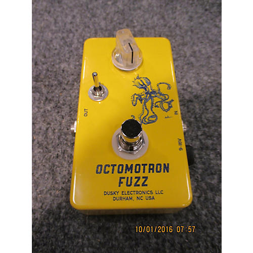 In Store Used Used Dusky Octomotron Fuzz Effect Pedal