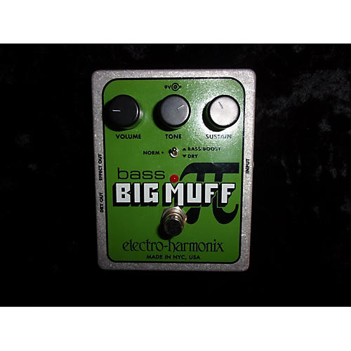 In Store Used Used EHX BASS BIG MUFF Effect Pedal-thumbnail