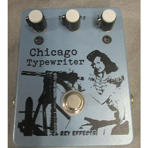 In Store Used Used ELREY CHICAGO TYPWRITER Effect Pedal