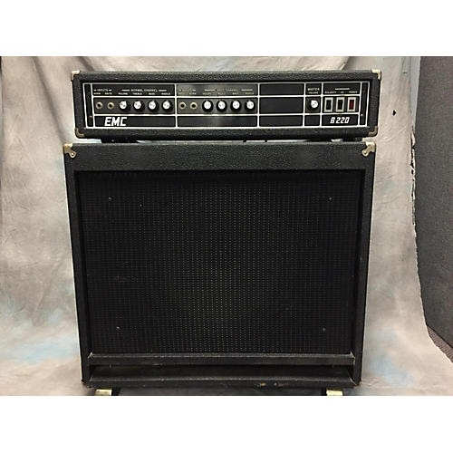 In Store Used Used EMC 1980s B220 Bass Amp Head-thumbnail