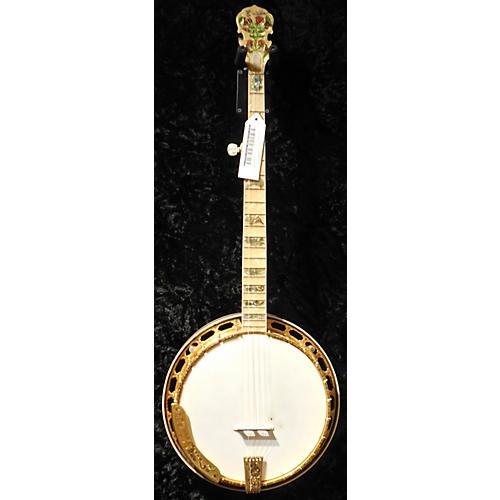 In Store Used Used ERNEST BANJOS 1995 KENTUCKY ROSE Sunburst Banjo