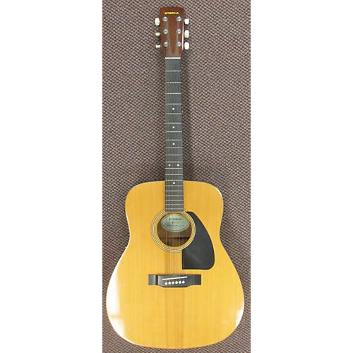 In Store Used Used ETERNA EF-15 Natural Acoustic Guitar Natural