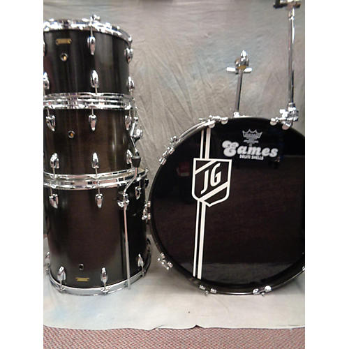 In Store Used Used Eames 2006 4 piece Birch Black Stain Drum Kit-thumbnail